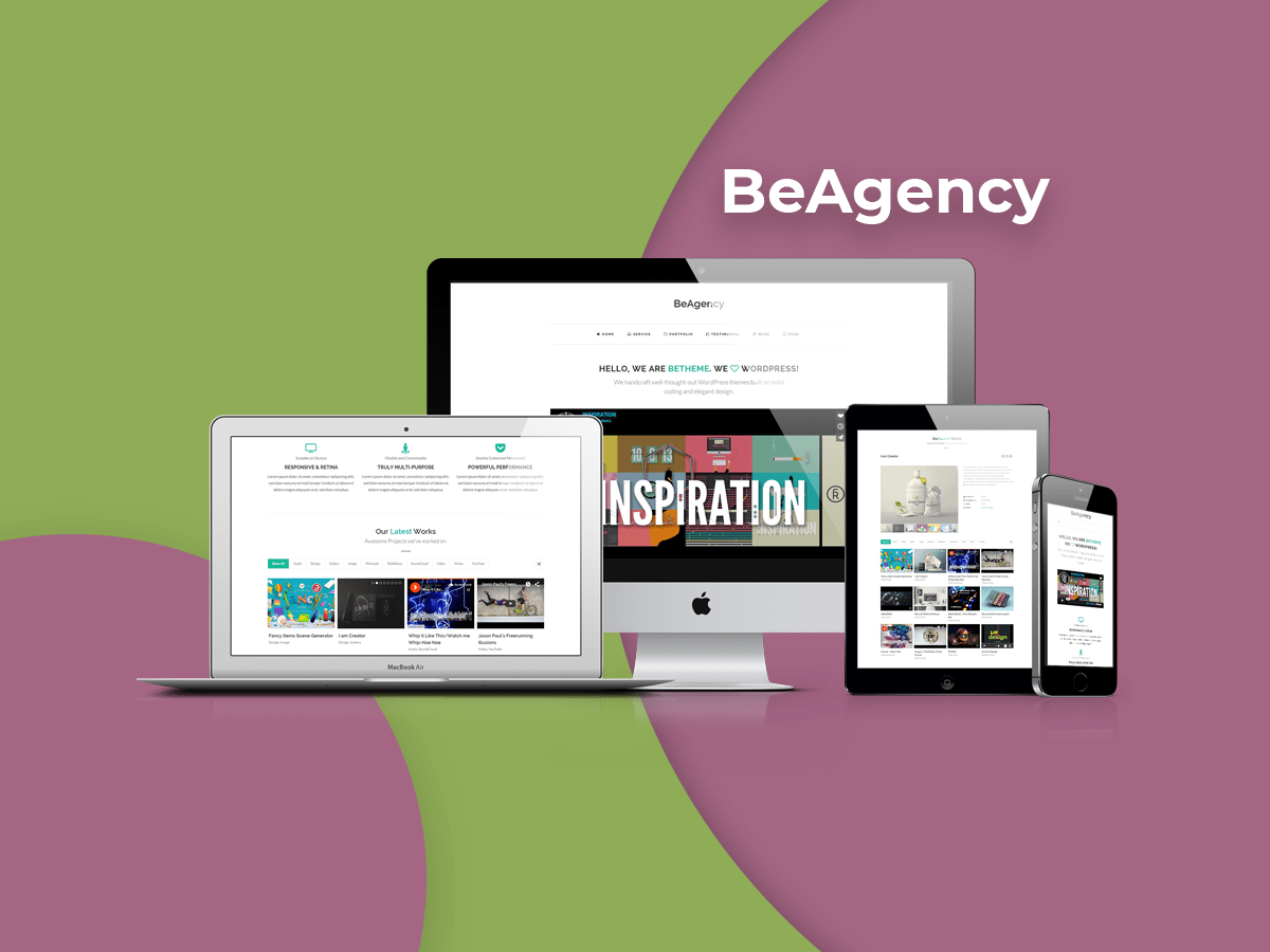 BeAgency - Portfolio Theme